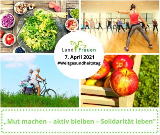 Weltgesundheitstag – Building a fairer, healthier world!