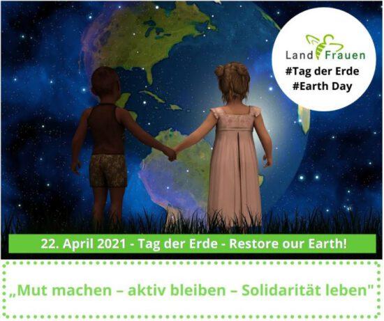 """""""Restore our earth"""": Jeder Bissen zählt …"""