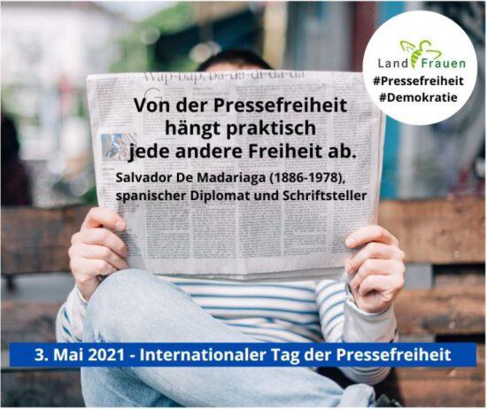 #Pressefreiheit = Demokratie?