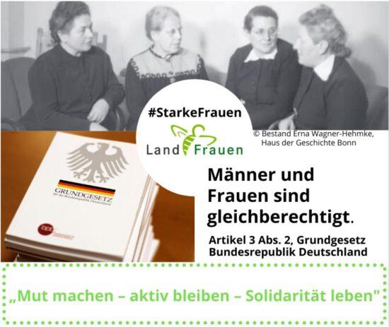 #Starke Frauen: Die vier Mütter des Grundgesetzes